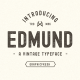 The Edmund - 6 Font Files - GraphicRiver Item for Sale