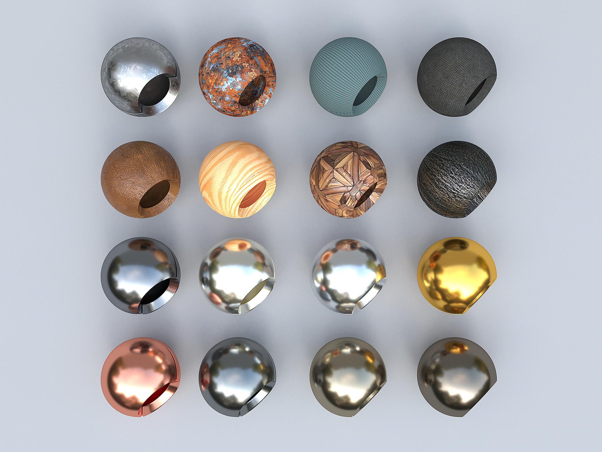 Corona Materials and Textures for Cinema 4D