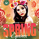 Spring Equinox Flyer Template V3 - GraphicRiver Item for Sale