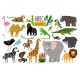 African Animals Various Wildlife Animals - GraphicRiver Item for Sale