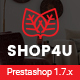 Shop4U - Store PrestaShop 1.7 eCommerce Theme