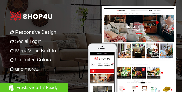 Shop4U – Store PrestaShop 1.7 eCommerce Theme