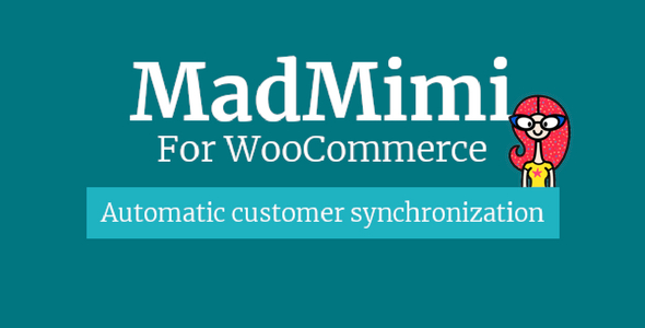 Mad Mimi for WooCommerce - CodeCanyon Item for Sale