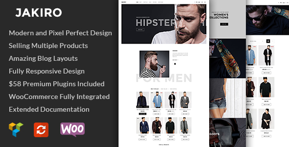Jakiro - Fashion Shop WordPress Theme - WooCommerce eCommerce