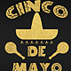 Gold Cinco De Mayo Flyer Template - GraphicRiver Item for Sale