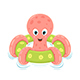 Octopus on Inflatable Circle - GraphicRiver Item for Sale