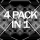 Abstract Black and White VJ Pack - VideoHive Item for Sale