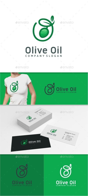 Olive Oil Logo - Food Logo Templates