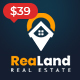 ReaLand - Real Estate Responsive WordPress Theme - ThemeForest Item for Sale