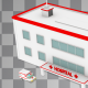 Isometric Hospital Under Construction - VideoHive Item for Sale