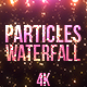 Particles Waterfall - VideoHive Item for Sale
