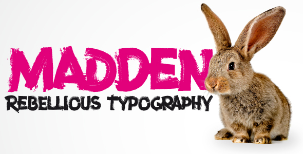 Madden - Decorative Fonts