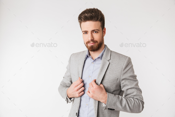 Portrait of a handsome young man - Stock Photo - Images