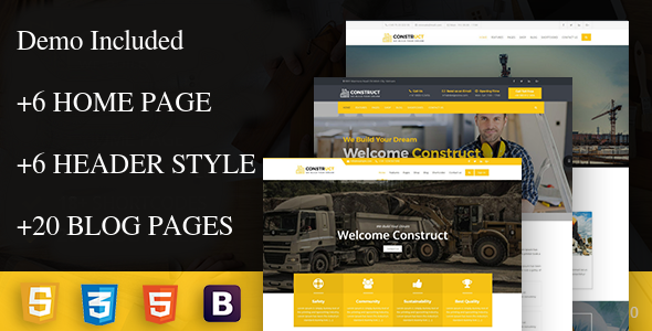 Image of construct - Construction Corporate Business Drupal 8 Theme