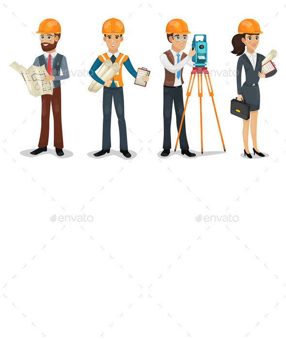 Civil Engineers - People Characters