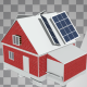 House Under Construction With Solar Panels - VideoHive Item for Sale