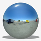 Truck Stop Blue Sky HDRI - 3DOcean Item for Sale