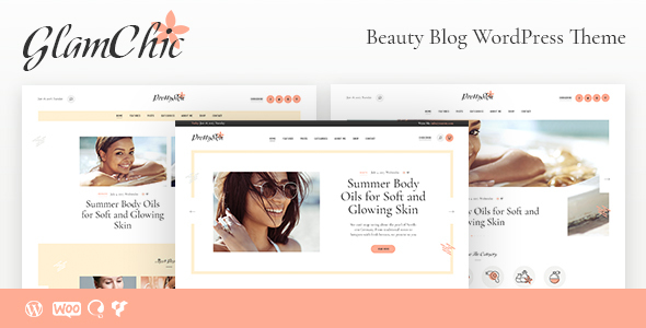 GlamChic | Beauty Blog & Online Magazine WordPress Theme - Blog / Magazine WordPress