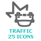 Traffic Mini Icon - GraphicRiver Item for Sale