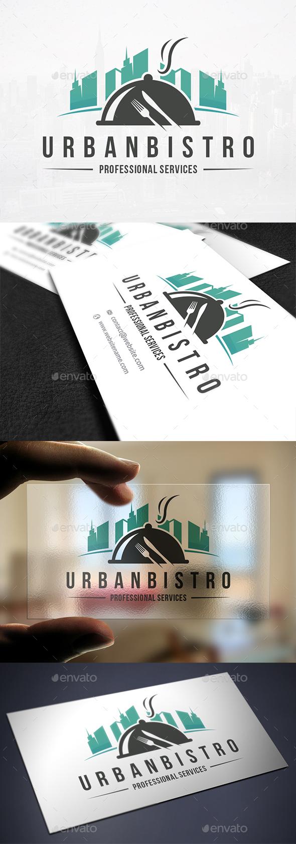 Urban Bistro Logo Template - Food Logo Templates