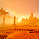 Ancient Pyramid In The Desert - VideoHive Item for Sale