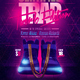 Rap Hip-Hop Trap Party Flyer - GraphicRiver Item for Sale