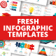 Fresh infographics pack - GraphicRiver Item for Sale