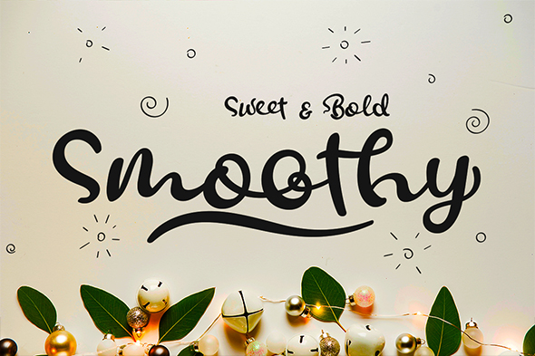 Smoothy - Script Fonts