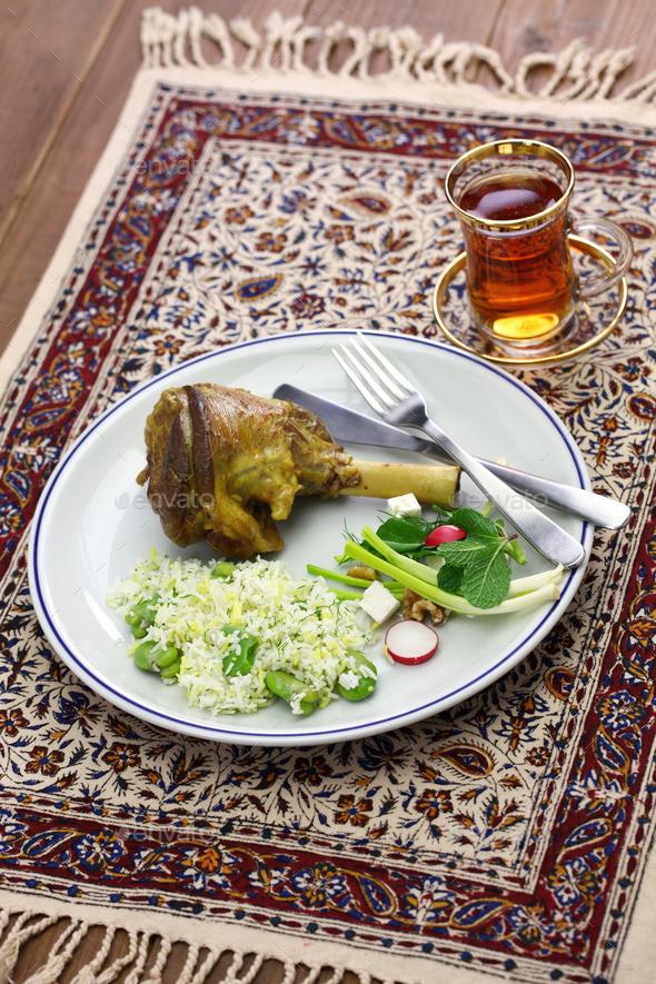 iranian persian cuisine - Stock Photo - Images