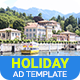 Tour & Travel | Holiday Travel Banner (TT004)