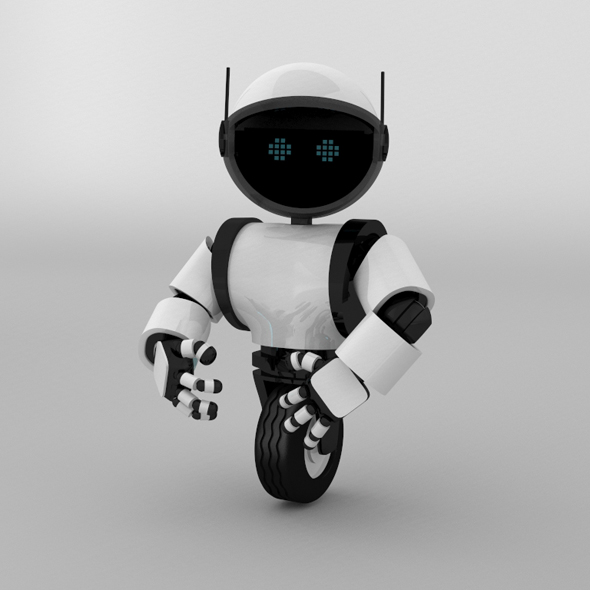 Small Robot - 3DOcean Item for Sale