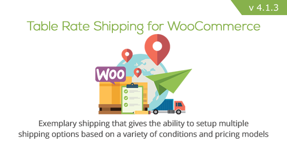 Table Rate Shipping for WooCommerce - CodeCanyon Item for Sale
