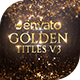 Golden Titles - VideoHive Item for Sale