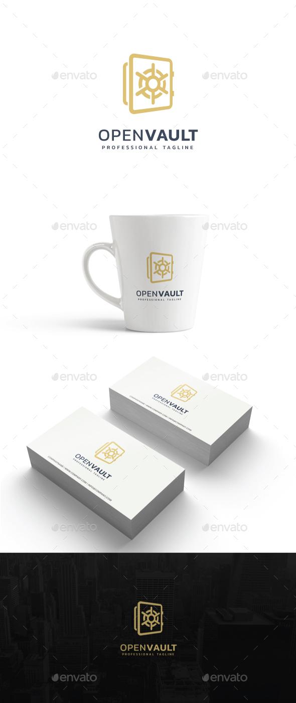 Open Vault Logo - Symbols Logo Templates