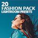 20 Fashion Pack Lightroom Presets - GraphicRiver Item for Sale