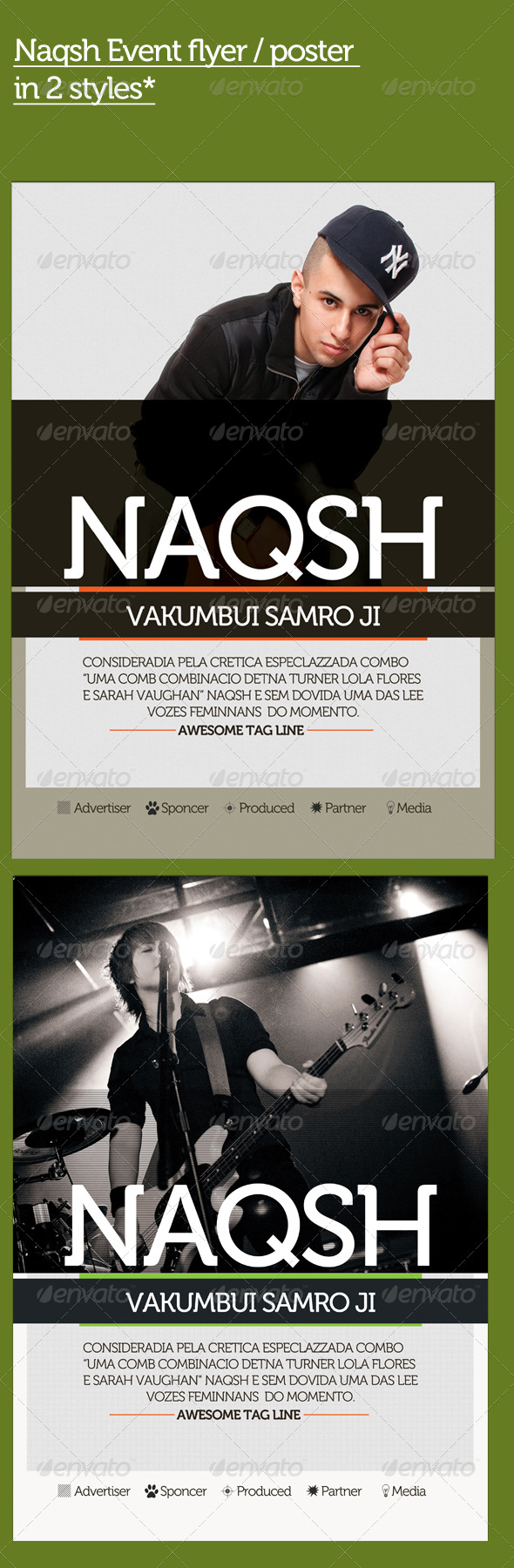 Naqsh Flyer - Clubs & Parties Events