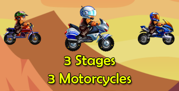 Bike Racing 3 Motorcycles - BBDOC - Android and iOS - CodeCanyon Item for Sale