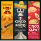 Cinco De Mayo Mexican Holiday Vector Banners