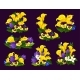Flower and Blooming Garden Plant Icon Design