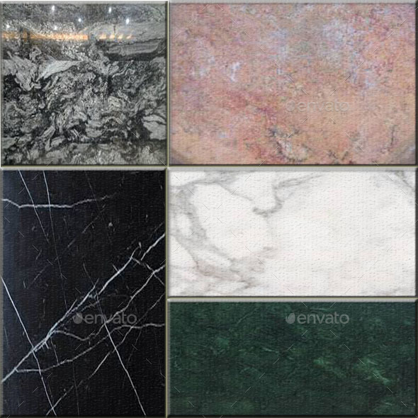 Marble Original Textures - 3DOcean Item for Sale