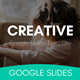 Creative Multipurpose Google Slides Template - GraphicRiver Item for Sale