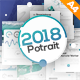 2018 Potrait Presentation Template - GraphicRiver Item for Sale