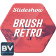 Brush Retro Slideshow - VideoHive Item for Sale