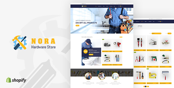 Nora - Hardware Store Shopify theme