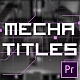 Mechanical Titles - VideoHive Item for Sale