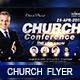 Speaker's Conference Church Flyer