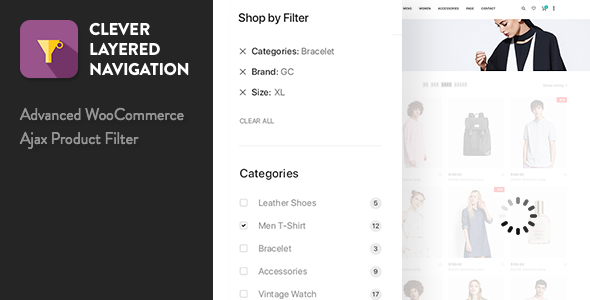 Clever Layered Navigation - WooCommerce Ajax Product Filter - CodeCanyon Item for Sale