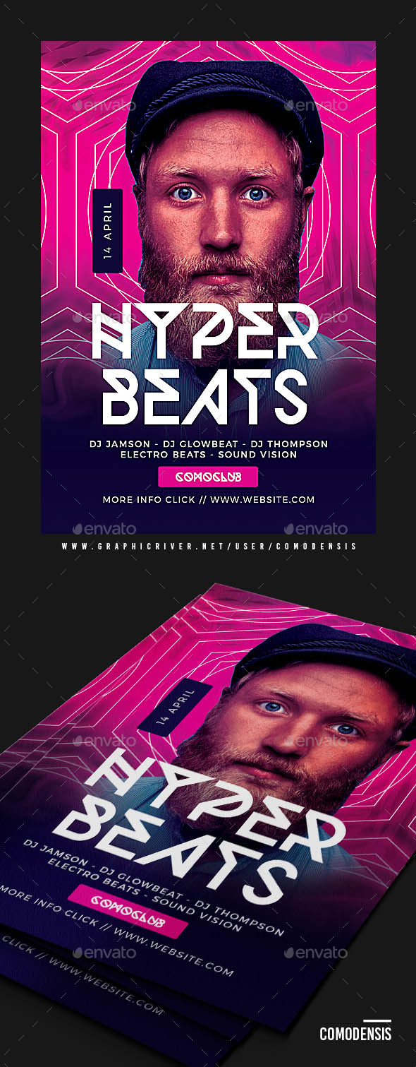 Dj Club Party Flyer Templates - Clubs & Parties Events
