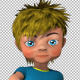 Cartoon Kid Dancing - VideoHive Item for Sale
