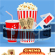 Cinema and Movie Concept - GraphicRiver Item for Sale
